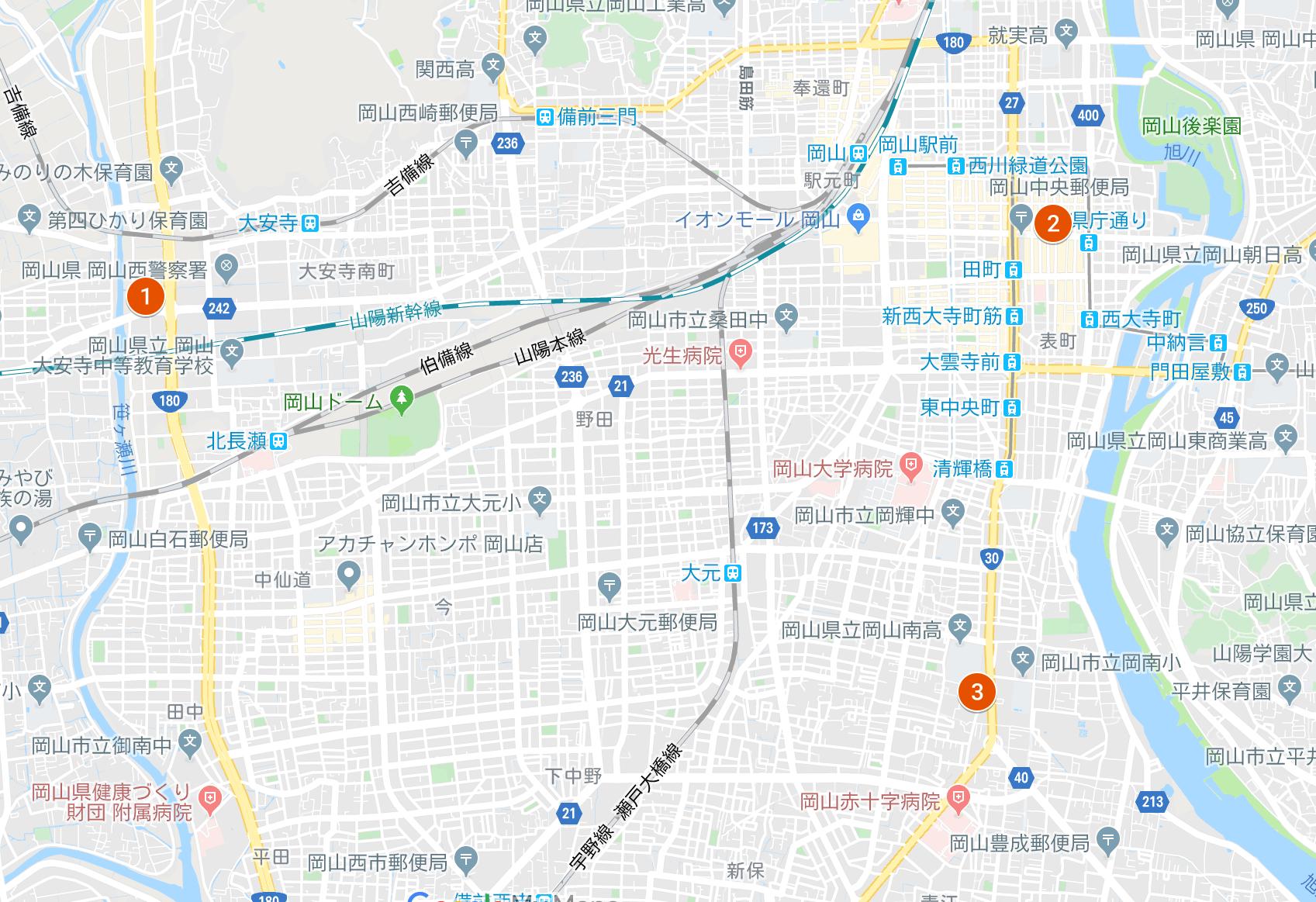 3店舗マップ